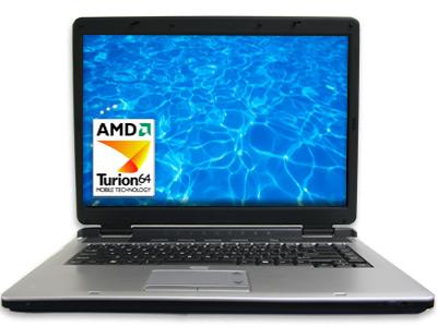 Linux 64-bit Laptop AMD Turion 64 LC2464T LinuxCertified